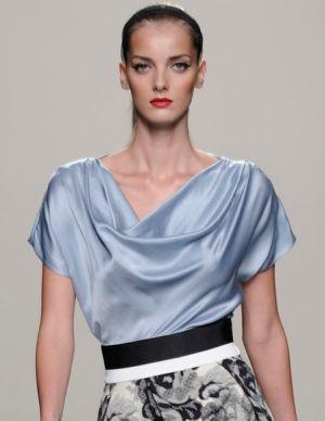Модные блузки весна-лето 2013