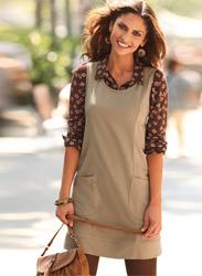 блузка и платье