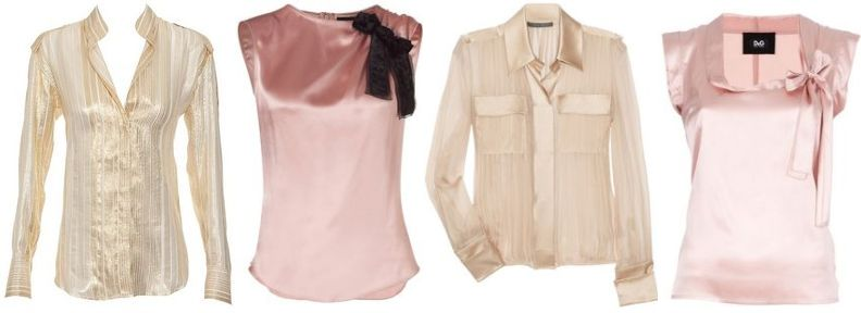 блузки подчеркивающие полноту