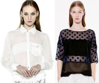 Модные блузки 2014: материал, фасон и расцветка модных блузок 2014.