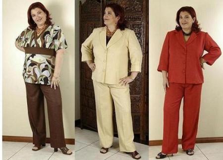 брюки для полных Леди