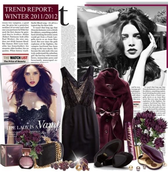 одежда в стиле вамп мода вампирический стиль одежда вампира