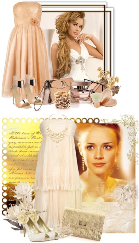 платье пастельного оттенка для выпускного бала