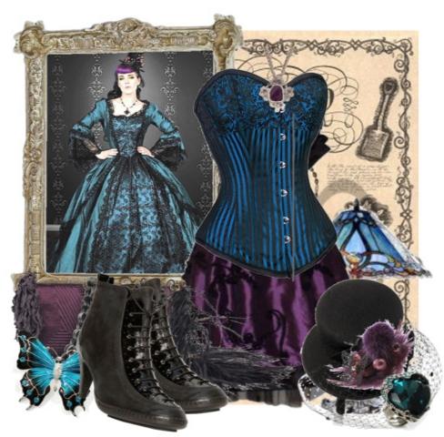 готика готический наряд готический стиль моды