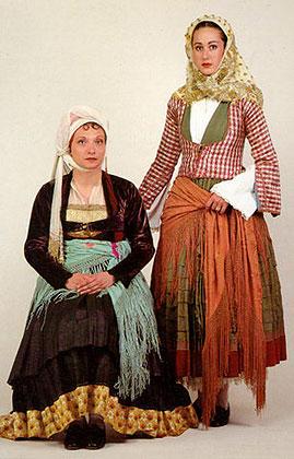 традиционная одежда греков