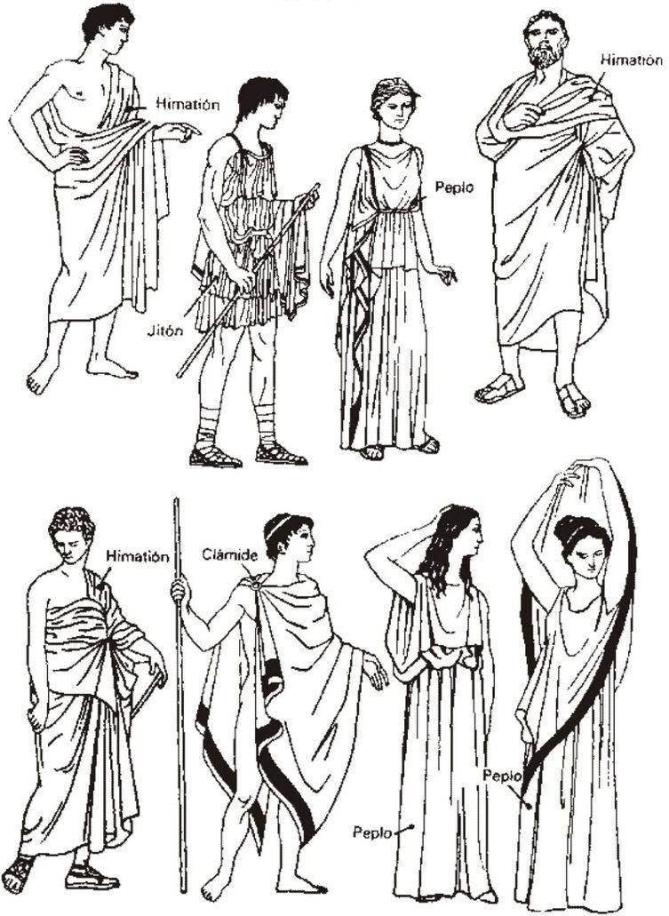 древнегреческая мода
