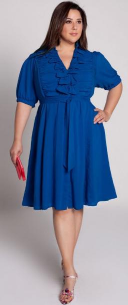 стройнящее платье