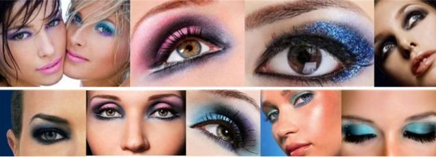 диско макияж