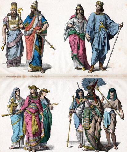 египетский стиль одежды