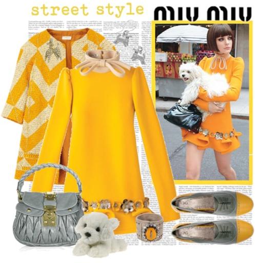 желто-серая комбинация