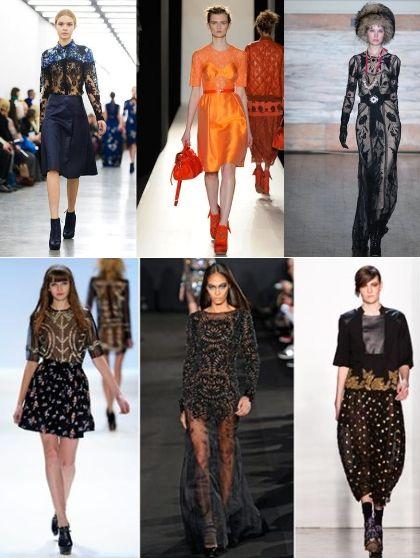 Модные тенденции сезона осень-зима 2012 2013