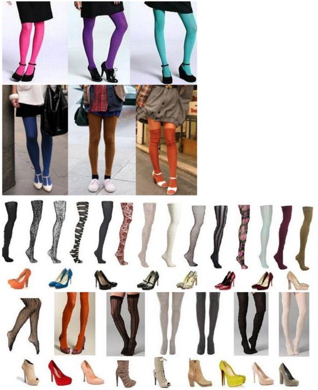 сочетание обуви