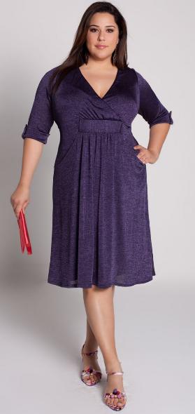 платье для полной леди