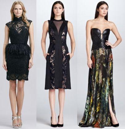 Новогодняя мода: модные платья для новогодней ночи 2014.