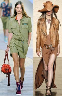 Модное направление весна-лето 2014: стиль «Сафари»