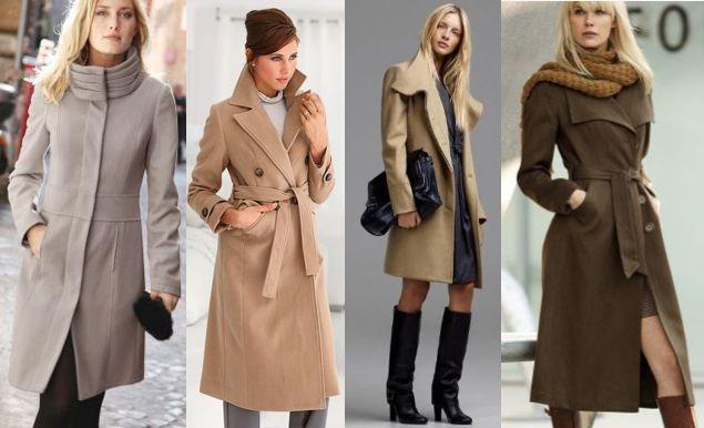 пальто для блондинок и русых