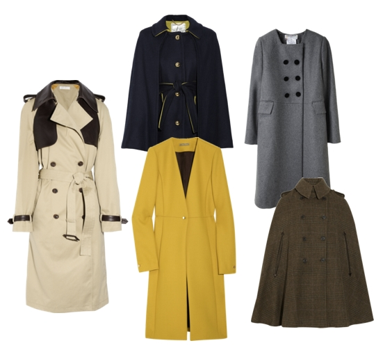 история пальто и пальто для каждого типа фигуры