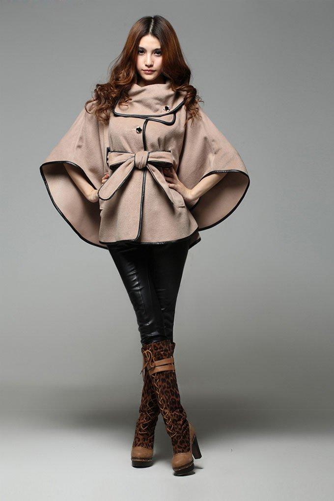пальто накидка