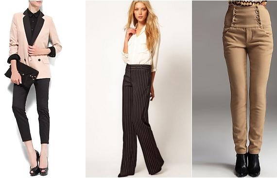 Модные брюки 2013: стильные модели и фасоны брюк 2013
