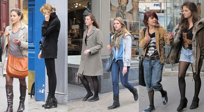 Парижская мода одежда парижа