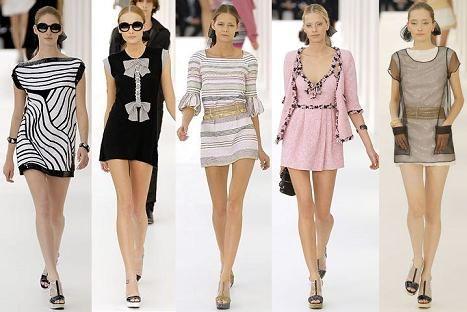 платья в стиле Шанель