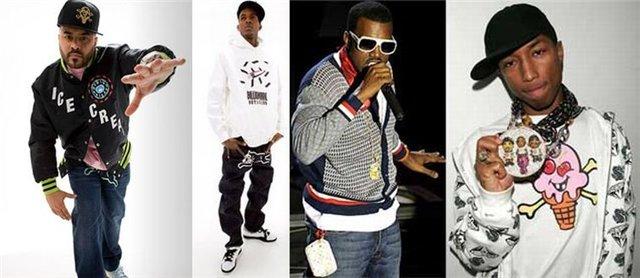 одежда Rap