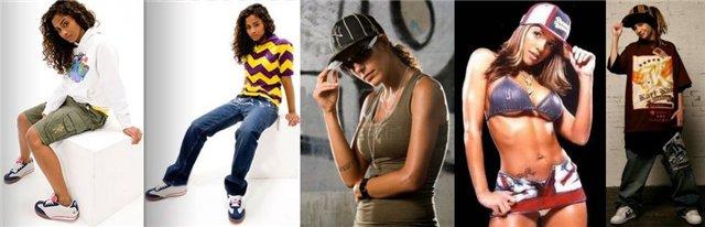 одежда в стиле Rap
