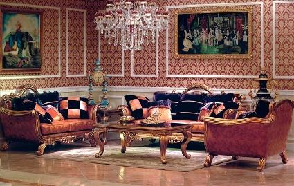 Дизайн помещения в стиле Рококо.