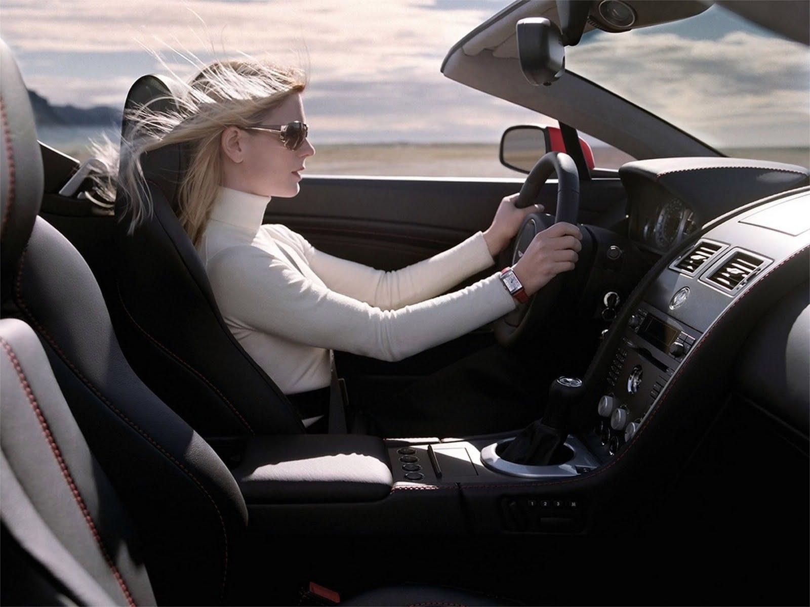 Мужской взгляд: женщина-водитель и леди за рулем