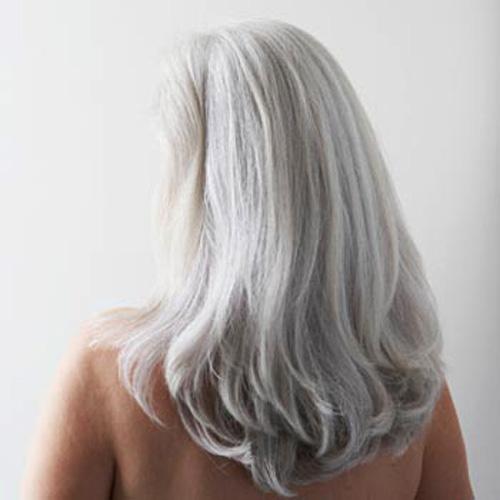 Седые волосы