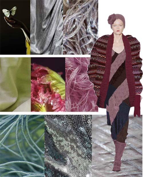 Модные тенденции сезона осень-зима 2012-2013: модный текстиль и трикотаж 2012.