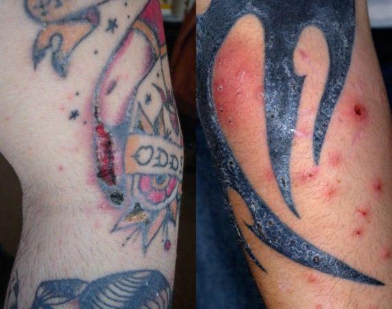 Татуировка татуаж кожи
