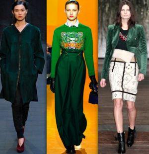 Модные цвета сезона осень-зима 2012-2013