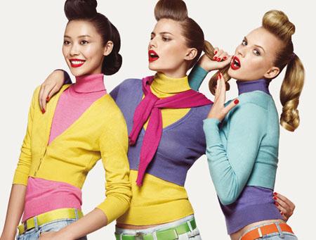 цвета и одежда, цветовые сочетания
