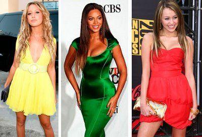 популярные цвета в одежде и их сочетания