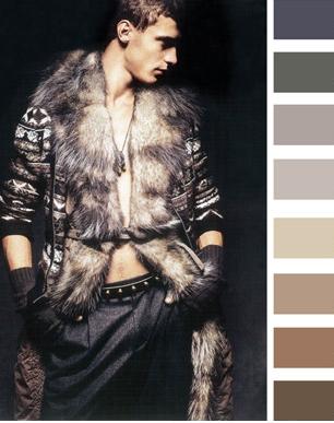 Мужская мода сезона осень-зима 2012-2013: стильная цветовая палитра