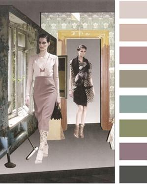 Женская мода сезона осень-зима 2012-2013: стильная цветовая палитра