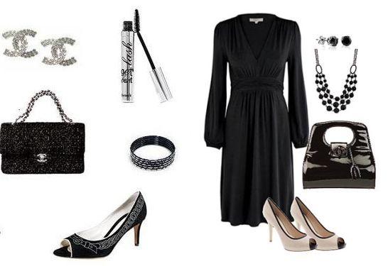 аксессуары для платья Шанель