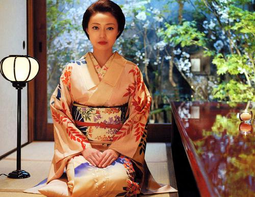 японское кимоно