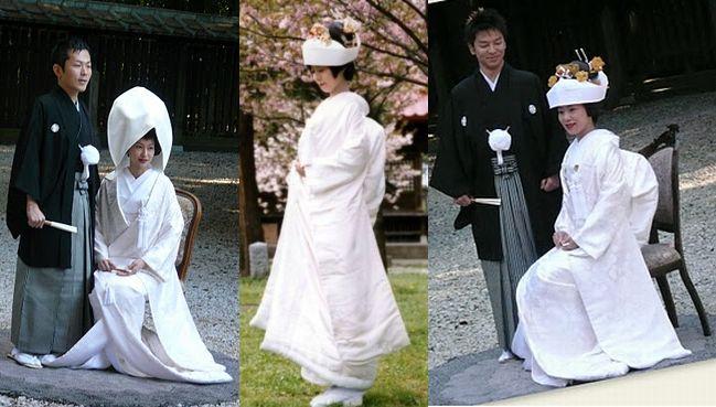 японское свадебное кимоно