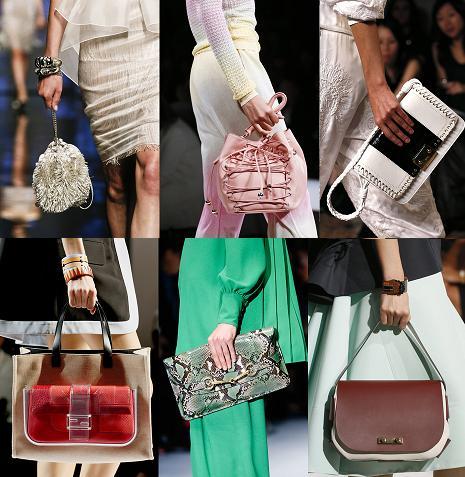 Модные аксессуары сезона весна-лето 2013 года