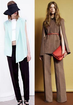 Модные брюки 2014: фасоны, материал и расцветка модных брюк 2014.