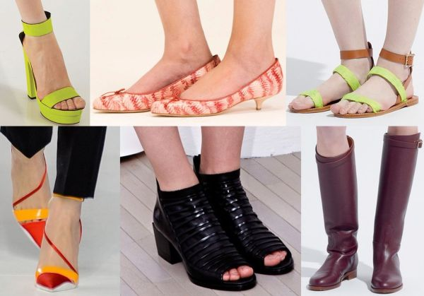 Модная обувь 2014: модели, материалы и расцветка модной обуви 2014