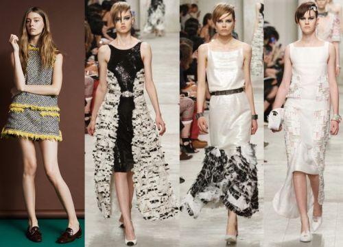Модные платья 2014:фасоны, материал и расцветка модных платьев 2014