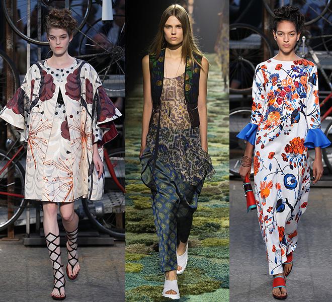 Модная тенденция весны и лета 2015: магия востока